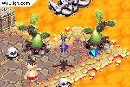 Spyro the Dragon Season of Ice Nintendo Game Boy Advance, 2001