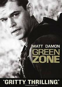Green Zone DVD, 2010  - $0.50