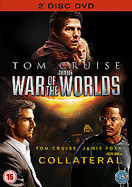 Collateral/War Of The Worlds (DVD, 2009, 2-Disc Set, Box Set) new freepost