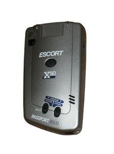 Escort Radar Detector >> Escort Passport 8500 X50 Radar Detector