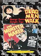 Dead-Men-Walk-The-Monster-Maker-New-Sealed-DVD-Roan-Dwight-Frye-George-Zucco