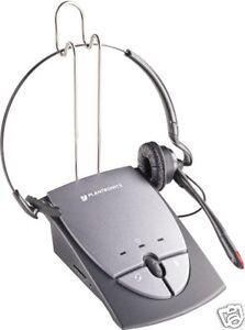 New Plantronics S12 Headset Phone Telephone System