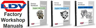 LDV-Workshop-Manuals