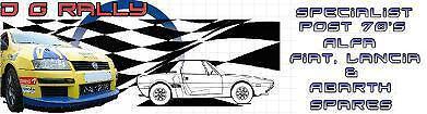 D G Rally Ltd Alfa Fiat Lancia X1/9