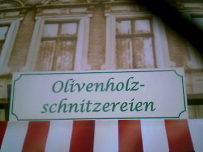 Olivenholzladen