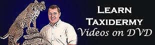 Learn Taxidermy Videos on DVD