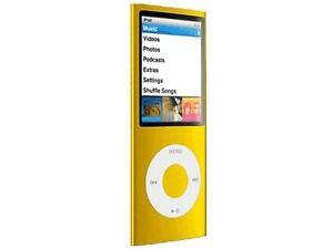 Apple-iPod-nano-4th-Generation-chromatic-Yellow-16-GB-Read-below