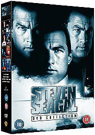 Steven Seagal Collection (DVD, 2009, 8-Disc Set, Box Set ...
