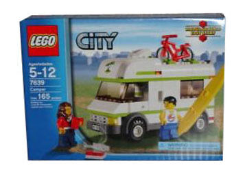 buy lego city transportation camper 7639 online ebay. Black Bedroom Furniture Sets. Home Design Ideas