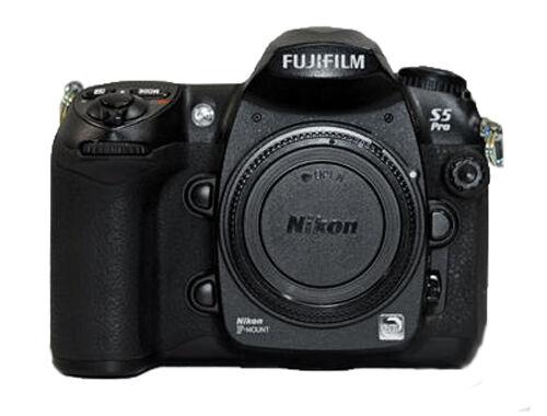 fujifilm finepix s series s5 pro 12 3mp digital slr camera black