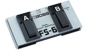 Boss FS-6 Guitar Effect Pedal