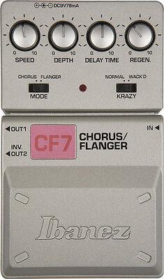 ibanez cf7 flanger guitar effect pedal for sale online ebay. Black Bedroom Furniture Sets. Home Design Ideas