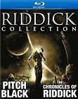 Riddick Blu-ray Collection (Blu-ray Disc, 2011, 3-Disc Set)
