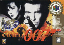 Nintendo 64 GoldenEye 007 Video Games