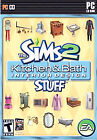 Sims 2: Kitchen & Bath Interior Design Stuff (PC, 2008)