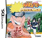 Naruto: Path of the Ninja Video Games for Nintendo DS
