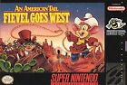 American Tail: Fievel Goes West (Super Nintendo Entertainment System, 1994)