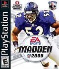 Madden NFL 2005 (Sony PlayStation 1, 2004)