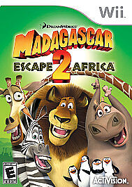 Madagascar 2 Escape 2 Africa - Wii - $5.28