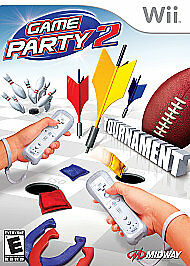 NEW-Game-Party-2-by-Midway-Nintendo-Wii-FACTORY-SEALED-Wii-U-FREE-SHIPPING