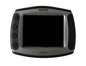 garmin zumo 550 motorcycle gps receiver with xm antenna ebay. Black Bedroom Furniture Sets. Home Design Ideas