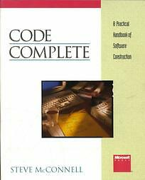 Code-Complete-A-Practical-Handbook-of-Software-Construction-by-Steve-McConnell-1993-Paperback-Steve
