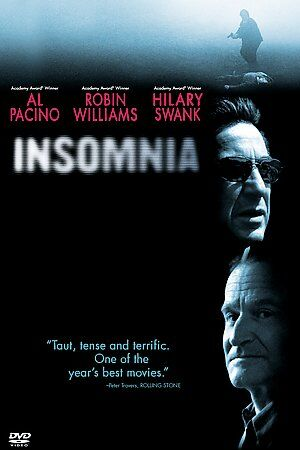 DVD: INSOMNIA [ROBIN WILLIAMS,AL PACINO,HILARY SWANK]WIDESCREEN 1