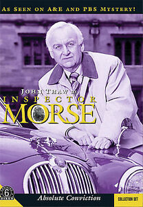 Inspector Morse: Absolute Conviction - Collection Set John Thaw, Kevin Whately,