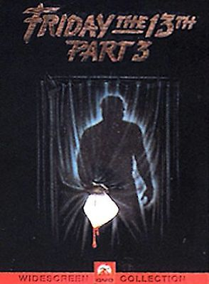 Friday the 13th - Part 3 (DVD, 2000, Sensormatic)