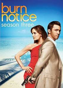 Burn Notice: Season Three (DVD, 2010, 4-...