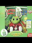 LeapFrog: Letter Factory/Talking Words Factory (2-Pack) (DVD, 2003, 2-Disc Set, 2-Pack With Plush Toy)