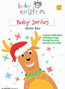 Good-Condition-DVD-Baby-Santa-Baby-Einstein-Music-Box