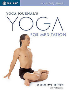 Yoga Journal's Yoga for Meditation Special DVD Edition Rodney Yee