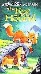 The Fox And The Hound VHS, 1994 Black Diamond Classics - $5.20