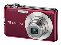 Casio-EXILIM-EX-S10-10-1-MP-Digital-Camera-Red-Used-in-Good-Condition
