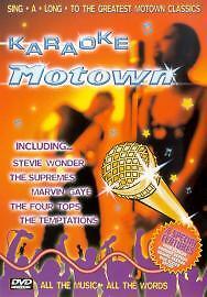 KARAOKE MOTOWN - DVD - REGION 2 UK