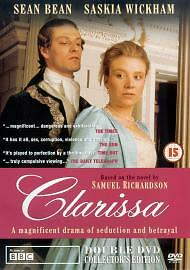 Clarissa DVD - Sean Bean, Lynsey Baxter, BBC PERIOD DRAME NEW SEALED REGION 2 UK