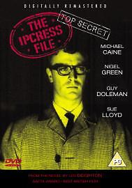 The Ipcress File Dvd Michael Caine Brand New & Factory Sealed
