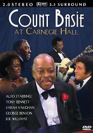 Count-Basie-At-Carnegie-Hall-DVD-Very-Rare-Also-Starring-Tony-Bennett-Free-P-amp-P