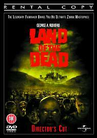 Land Of The Dead (DVD Director's Cut Edition) George A Romero Zombie Classic