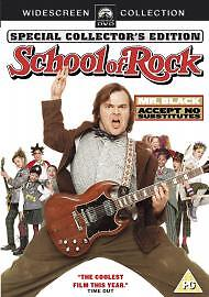 School of Rock DVD 2004 By Jack BlackMike White - <span itemprop=availableAtOrFrom>Salford, United Kingdom</span> - School of Rock DVD 2004 By Jack BlackMike White - Salford, United Kingdom