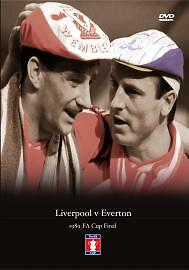 FA CUP FINAL 1989 LIVERPOOL VS EVERTON DVD FOOTBALL