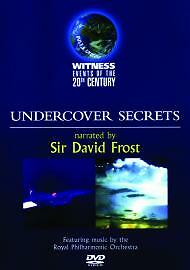 Witness Events Of The 20th Century: Undercover Secrets [DVD], DVD | 503474123041