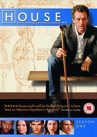 House-MD-Season-1-Hugh-Laurie-DVD-Drama-TV-Series-Region-2-Brand-New