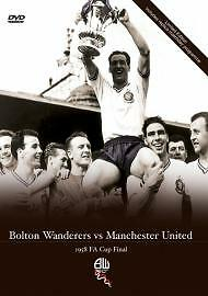 FA-CUP-1958-Bolton-Wanderers-V-Man-Utd-DVD-NEW