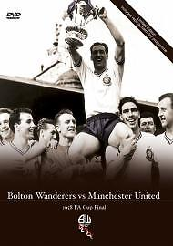 Bolton Wanderers Vs Manchester United - FA Cup Final 1958 (DVD, 2008) NEW!