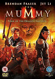 The Mummy  Tomb Of The Dragon Emperor DVD 2008 - Hove, United Kingdom - The Mummy  Tomb Of The Dragon Emperor DVD 2008 - Hove, United Kingdom