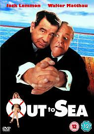 OUT TO SEA - (Walter Matthau)  DVD - REGION 2 UK