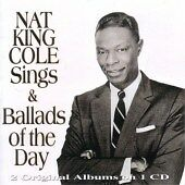 Nat King Cole 33RPM Speed Easy Listening Vocal LP Records