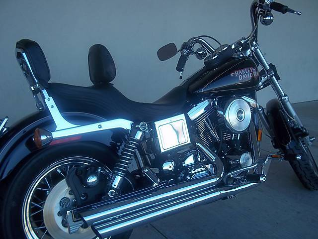 Pre-Owned 1997 Dyna FXDL, Low Rider, Black, Low Miles!